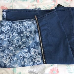 Guess denim midi skirt